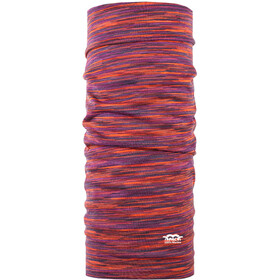 P.A.C. Scaldacollo tubolare in lana merino, multi sunrise